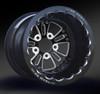 Fusion Eclipse Beadlock Rear Wheel • Fusion Eclipse Center • Black Outer • Eclipse Beadlock