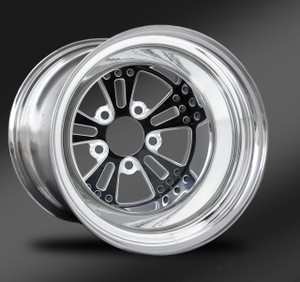 Fusion Eclipse Non-Beadlock Rear Wheel • Fusion Eclipse Center • Polished Outer