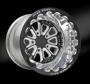Exile Eclipse Beadlock Wheel • Exile Eclipse center • Polished outer  • Eclipse Beadlock