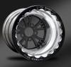 Torx Black Beadlock Wheel • Torx Black center • Polished outer  • Eclipse Beadlock