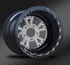 Torx Polished Beadlock Wheel • Torx Polished center • Black outer  • Eclipse Beadlock