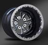 Torx Eclipse Beadlock Wheel • Torx Eclipse center • Black outer  • Polished Beadlock