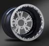 Torx Polished Beadlock Wheel • Torx Polished center • Black outer  • Polished Beadlock