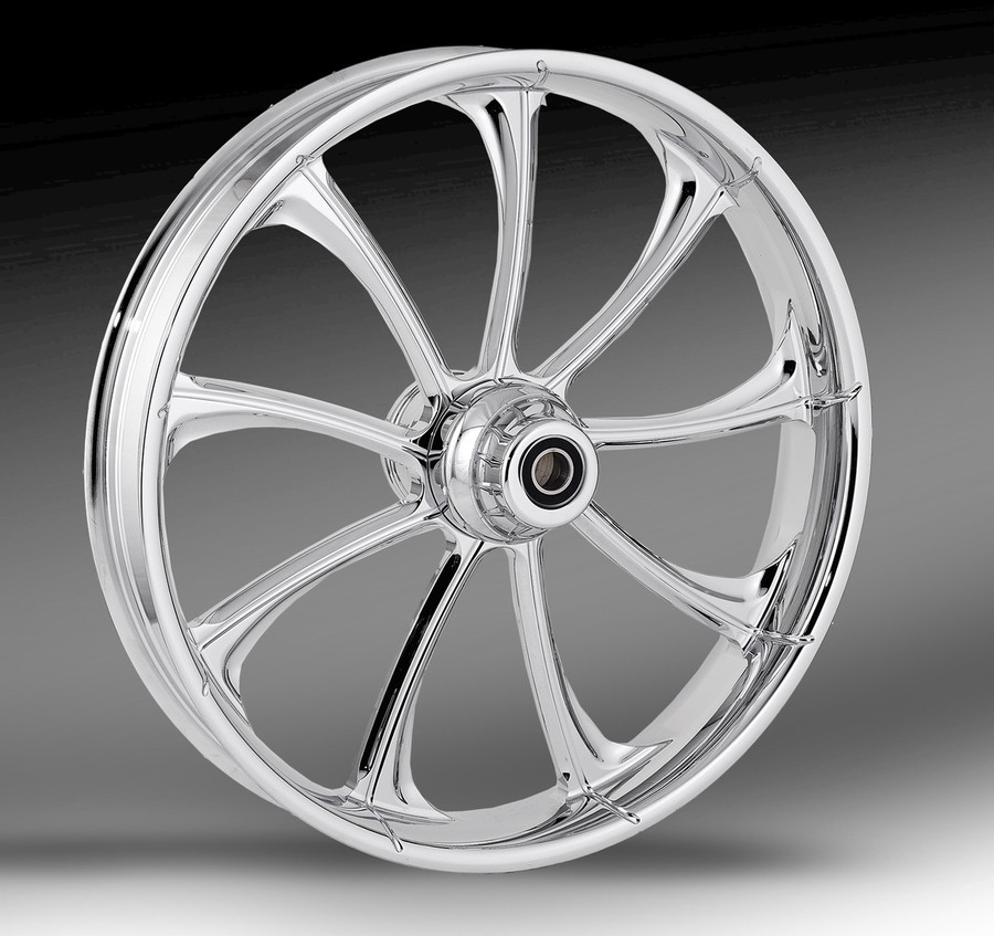 RC Components- Revolt wheel shown in Chrome finish.