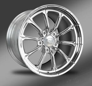 Exile (polished) Street Fighter Wheel