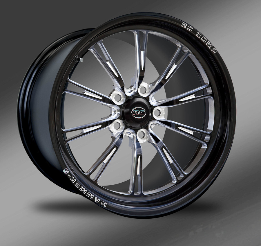 Hammer-S (no rim accents) Eclipse Finish- Street Fighter Wheels