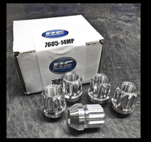 14mm x 1.5 12 Point Polished (Acorn style lug nut)
