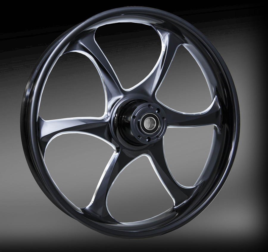 Contra Eclipse (black with raw machined accents) Wheel