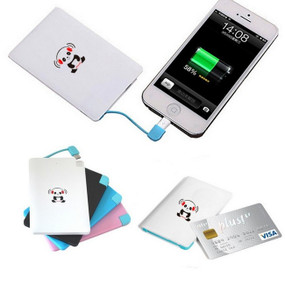 iPanda 2,200mAh Credit Card Universal Portable Charger