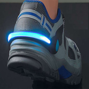 2 Pack: Night Runner LED Light Shoe Clip - 3 Colors