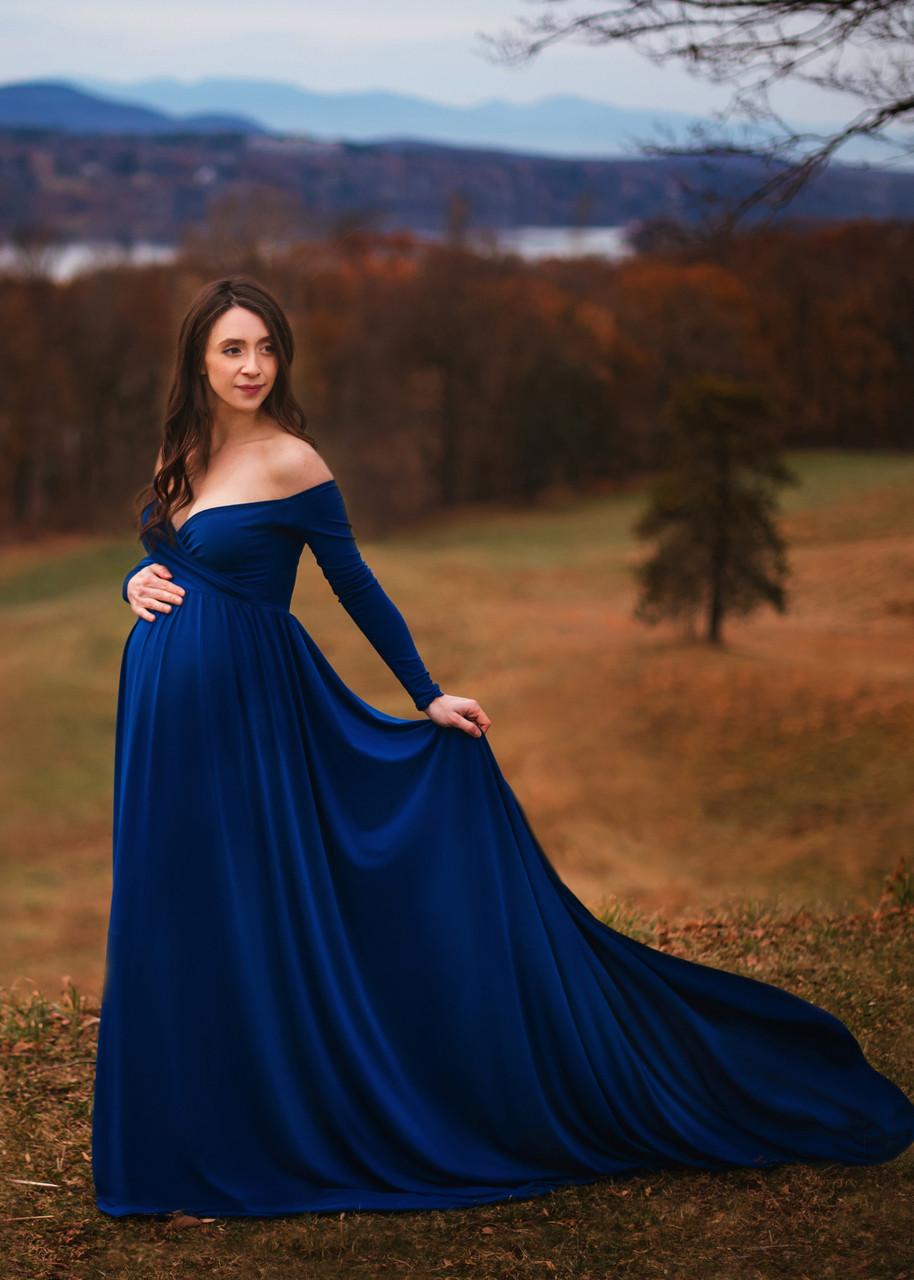 03695620e4e86 Darah Maternity Dress. Price: $135.00. Royal Blue