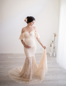 Giselle Lace Gown