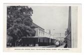 Asti, California Postcard:  Shipping and Loading Track, Italian Swiss Colony Winery