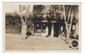 Marmarth, North Dakota Real Photo Postcard:  Foster-Gilman Drug Store