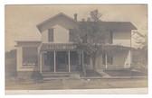 East Smithfield, Pennsylvania Postcard:  Edw. Doty Store on Main Street