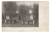 Bergey, Pennsylvania Postcard:  Store & Residence of B. W. Kunz