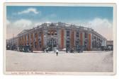 Brooklyn, New York Postcard:  Long Island Railroad Station