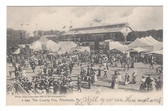 Allentown, Pennsylvania Postcard:  The County Fair in 1905