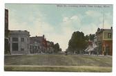 Deer Lodge, Montana Old Postcard:  Main Street Looking South