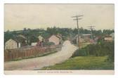 Burnsville, Pennsylvania Postcard:  Burnsville Looking North