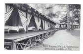 Asilomar, California Postcard:  Tent Houses, YWCA Conference Grounds