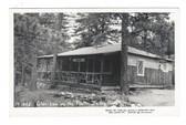 Bailey, Colorado Real Photo Postcard:  Glen-Isle on the Platte