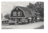Bayside, Maine Real Photo Postcard:  Parker's Store & Post Office