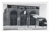 Tombstone, Arizona Real Photo Postcard:  Bird Cage Theatre and Coffee Shop
