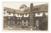 Eureka, California Real Photo Postcard:  The Garden & Eureka inn