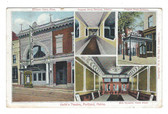 Portland, Maine Postcard:  Keith's Theatre Multiview