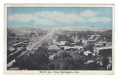 Springdale, Arkansas Postcard:  Bird's Eye View