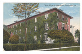 Hammond, Louisiana Postcard:  West View of Oaks Hotel