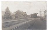 Atkinson, New Hampshire Real Photo Postcard:  Train Station
