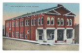 Victor, Colorado Postcard:  Elks Club Building