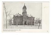 Pipestone, Minnesota Postcard:  Pipestone County Court House