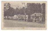 Cordele, Georgia Postcard:  Shady Park Camp & Gas Station