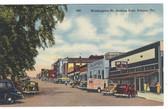 Athens, Georgia Postcard:  Washington Street, Looking East