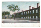 Bristol, Rhode Island Postcard:  National Rubber Co.