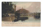 Cuyahoga Falls, Ohio Postcard:  The Pavilion, Silver Lake