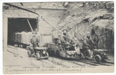 Idaho Springs, Colorado Postcard:  Newhouse Mining Tunnel