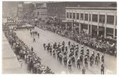Peoria, Illinois Real Photo Postcard:  1929 Downtown Parade