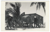 Chokoloskee, Florida Real Photo Postcard:  Smallwood's Store, Ole Indian Trading Post, & Post Office