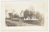 East Poland, Maine Real Photo Postcard:  Grange Hall