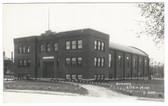 Aitkin, Minnesota Real Photo Postcard:  Armory