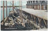 Yarmouth, Nova Scotia, Canada Postcard:  Fish Curing