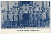 Waterbury, Connecticut Postcard:  The Letter Carriers