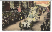 New Orleans, Louisiana Postcard:  Mardi Gras Carnival Float