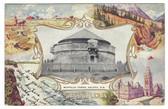 Halifax, Nova Scotia, Canada Patriotic Postcard:  Martello Tower