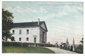 Halifax, Nova Scotia, Canada Postcard:  Church Parade at Garrison Chapel