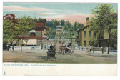 Hot Springs, Arkansas Postcard:  Grand Entrance to Reservation